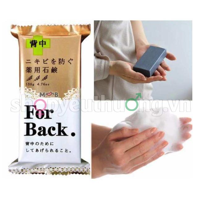 Xà Phòng Trị Mụn Lưng Pelican For Back Medicated Soap