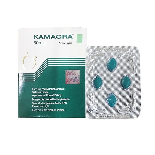 Thuốc cường dương - kéo dài thời gian cho đàn ông Kamagra - vỉ 4 viên