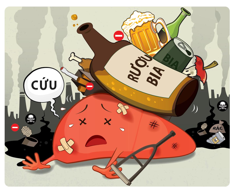 Quý ông cần làm gì để thải độc gan do bia rượu?